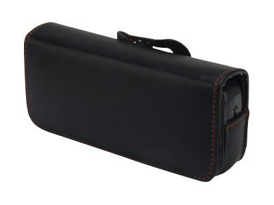 Zcover Tech-Leather Pouch Case for Cisco 7920 7921G 7925G 7925G-EX 7926G, Black, CI925LTB