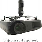InFocus Universal Projector Mount, Adapts to 1.5 NPT, Black