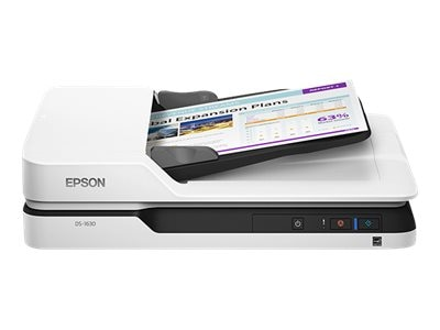 Epson DS-1630 Flatbed Color Document Scanner, B11B239201