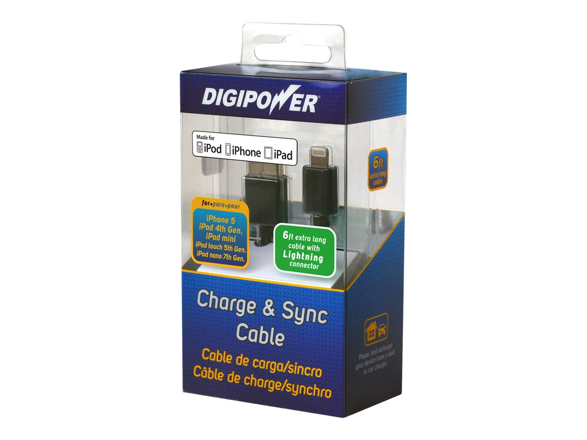 Digipower iPhone 5 Charge Sync Cable, PD-LDCB-6, 15402731, Cellular/PCS Accessories