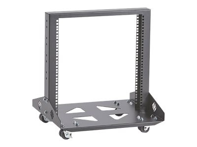 Black Box Mobile Open Rack, 2-Post, 11U, RM210A