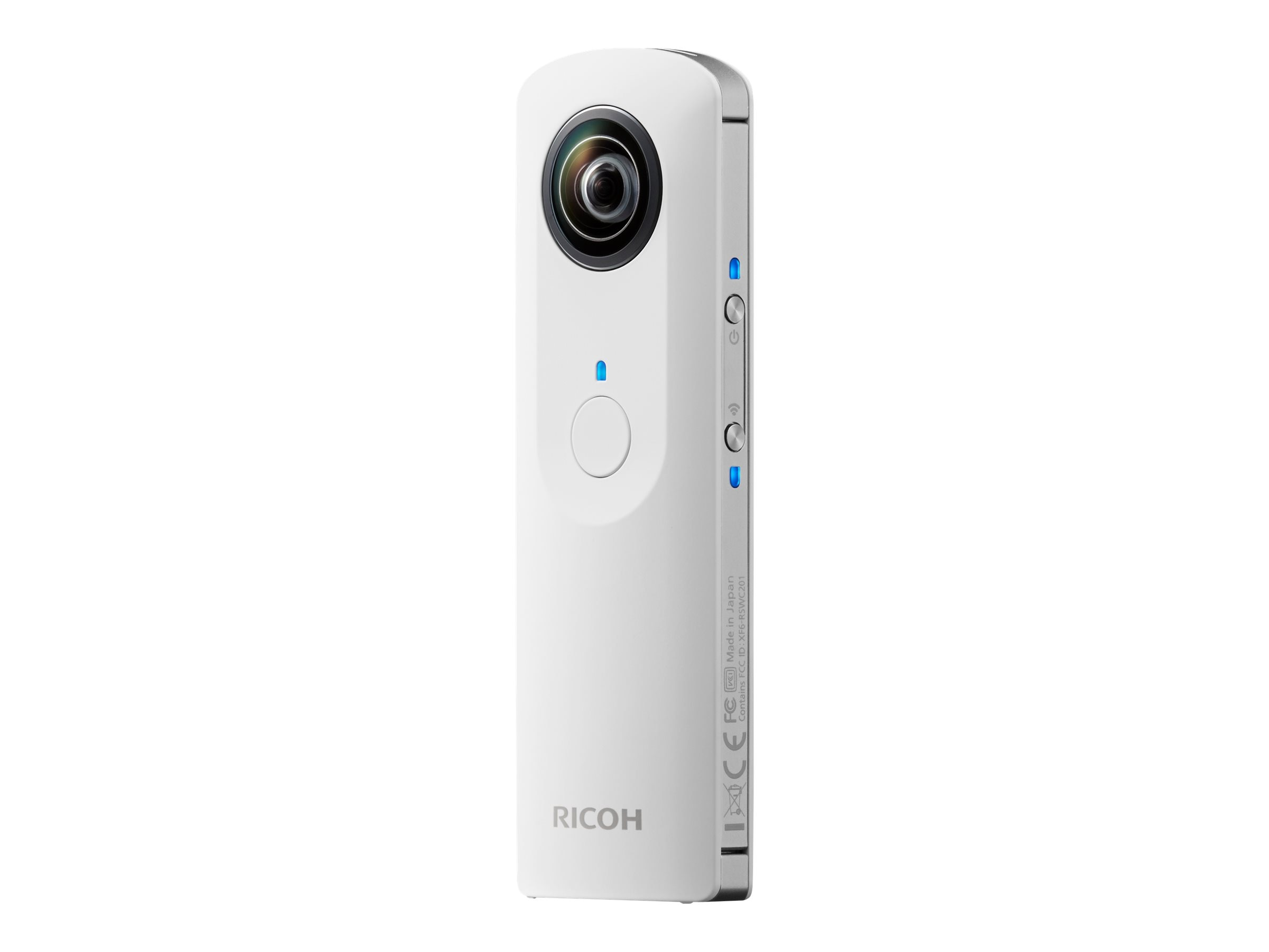 Pentax Theta 360 Degree Spherical Cam, White, 910700, 18218391, Cameras - Digital - Point & Shoot