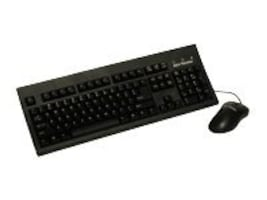 Keytronic Keyboard with Optical Mouse Black, 10-pack, KT800U2M10PK, 7306221, Keyboard/Mouse Combinations