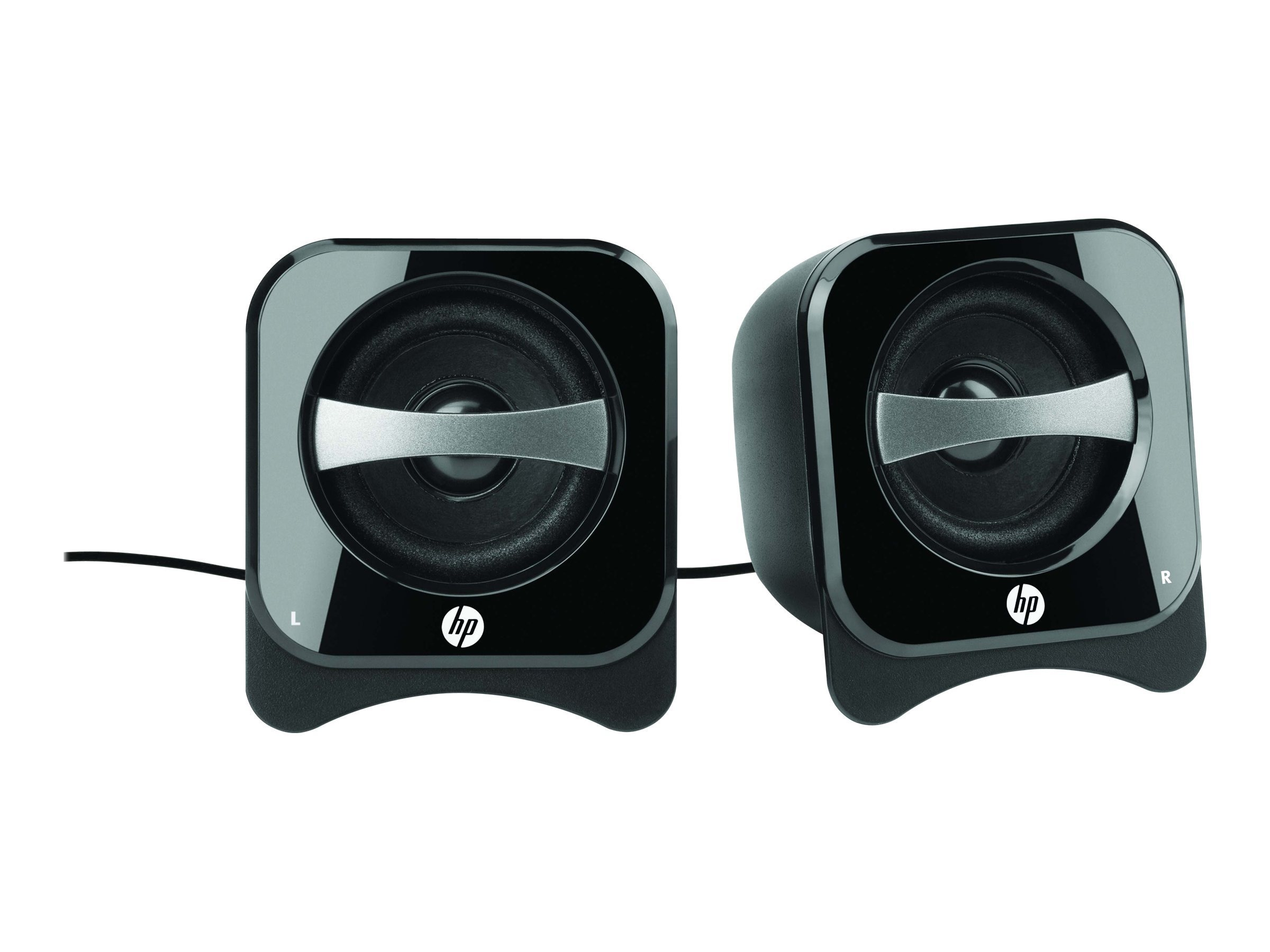HP 2.0 Compact Speakers, BR387AA#ABA, 12689597, Speakers - PC