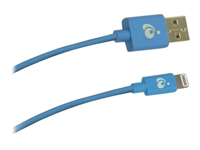 IOGEAR Reversible USB to Lightning Cable, Blue, 1m, GRUL01-BL, 22160013, Cables