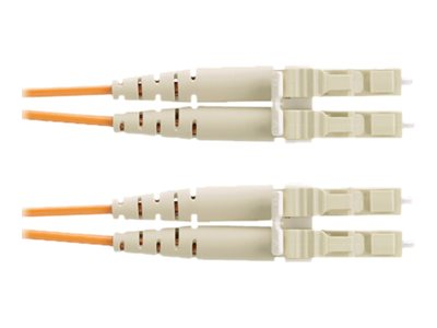 Panduit LC to LC 62.5 125 OM1 Duplex Riser Cable, Orange, 1m