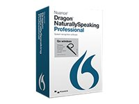 Nuance Dragon NaturallySpeaking Professional 13.0 Retail Edition w Headset, A209A-GN9-13.0, 17719281, Software - Voice Recognition