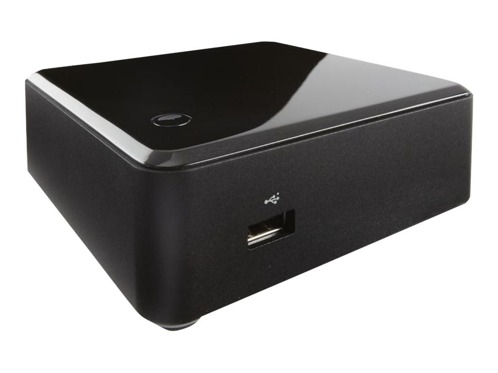 Intel Barebones, NUC Kit DC53427HYE Mini Desktop UCFF Core i5-3427U 2.8GHz Max.16GB DDR3 mSATA GbE, Black, BOXDC53427HYE, 18680788, Barebones Systems