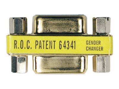 Tripp Lite Compact Gender Changer DB9M to DB9M Gold Connectors