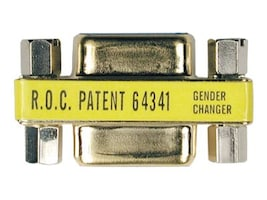Tripp Lite Compact Gender Changer DB9M to DB9M Gold Connectors, P152-000, 4900794, Adapters & Port Converters