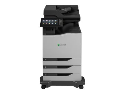 Lexmark CX825dte Color Laser MFP w  CAC Enablement, 4-Year Onsite Repair & Air Force Code (TAA Compliant), 42KT079