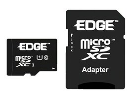 Edge 128GB Micro SDXC Memory Card, Class 10, No Adapter, PE247973, 30966463, Memory - Flash