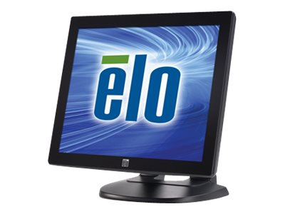 ELO Touch Solutions 1715L 17 LCD Desktop Monitor, Projected Capacitive Touchscreen, USB, Gray, E230052