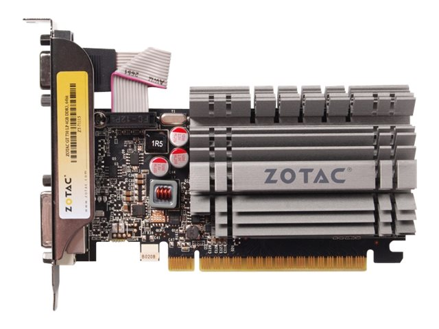 Zotac GeForce GT 730 PCIe 2.0 x16 Graphics Card, 4GB DDR3, ZT-71115-20L, 18404847, Graphics/Video Accelerators
