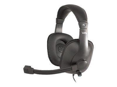 Cyber Acoustics AC-960 Stereo Headset with Voice Recognition and DNCT4 Microphone Technology, AC-960, 5231692, Headsets (w/ microphone)