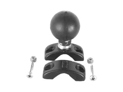 Ram Mounts 1.25 to 1.875 Rail Clamp Base with 2.25 Ball, RAM-D-271U-12