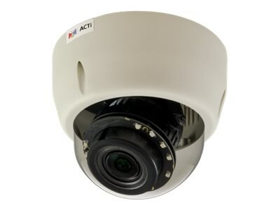 Acti 10MP Indoor Day Night Basic WDR 4.3x Zoom Dome Camera