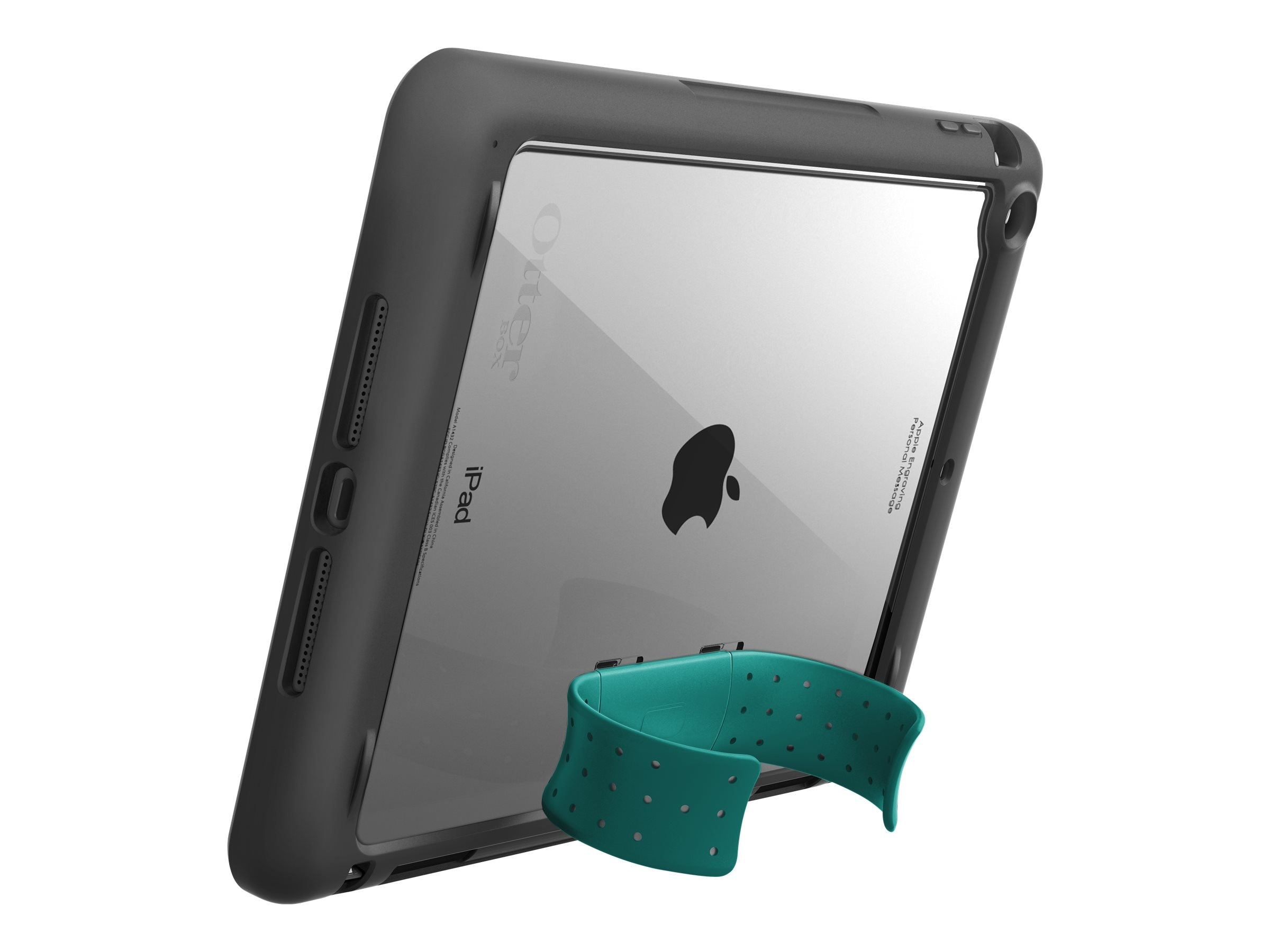 OtterBox Unlimited Stand for iPad Air, Light Teal, 78-41678, 18661149, Carrying Cases - Tablets & eReaders