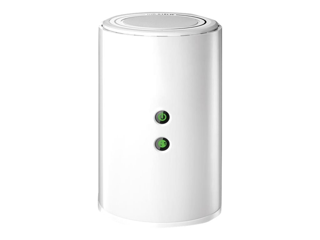 D-Link Wireless AC750 Dual Band Gigabit Cloud Router, White, DIR-818LW