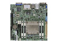 Supermicro Motherboard, A1SRi-2558F Mini-ITX Atom QC SoC C2558 Max.64GB DDR3 6xSATA PCIe 4xGbE