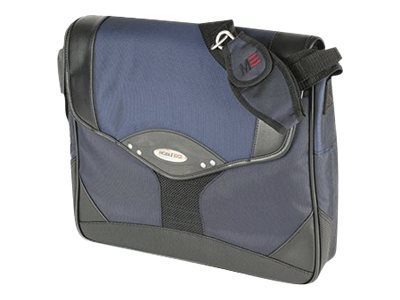 Mobile Edge Premium Messenger, Navy Black, 1680D Ballistic Nylon, MEMP03, 6101267, Carrying Cases - Notebook