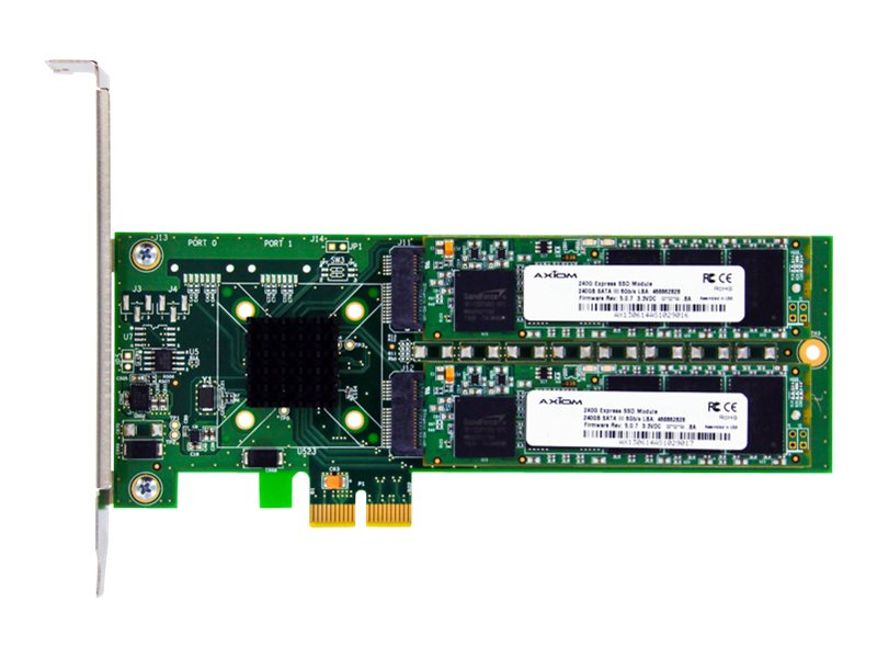 Axiom 120GB X2 Signature III Series PCIe 2.0 Solid State Drive, PCIE2B4H0120-AX, 16074881, Solid State Drives - Internal