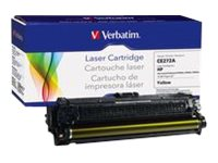 Verbatim CE272A Yellow Remanufactured Toner Cartridge for HP