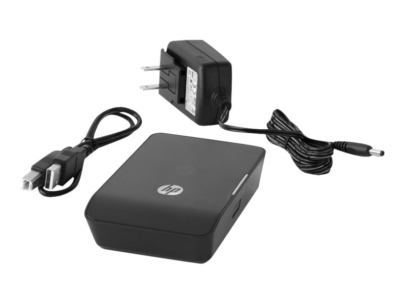 HP 1200w NFC Wireless Mobile Print Accessory for LaserJet Pro MFP, E5K46A#ABA, 16533274, Network Print Servers