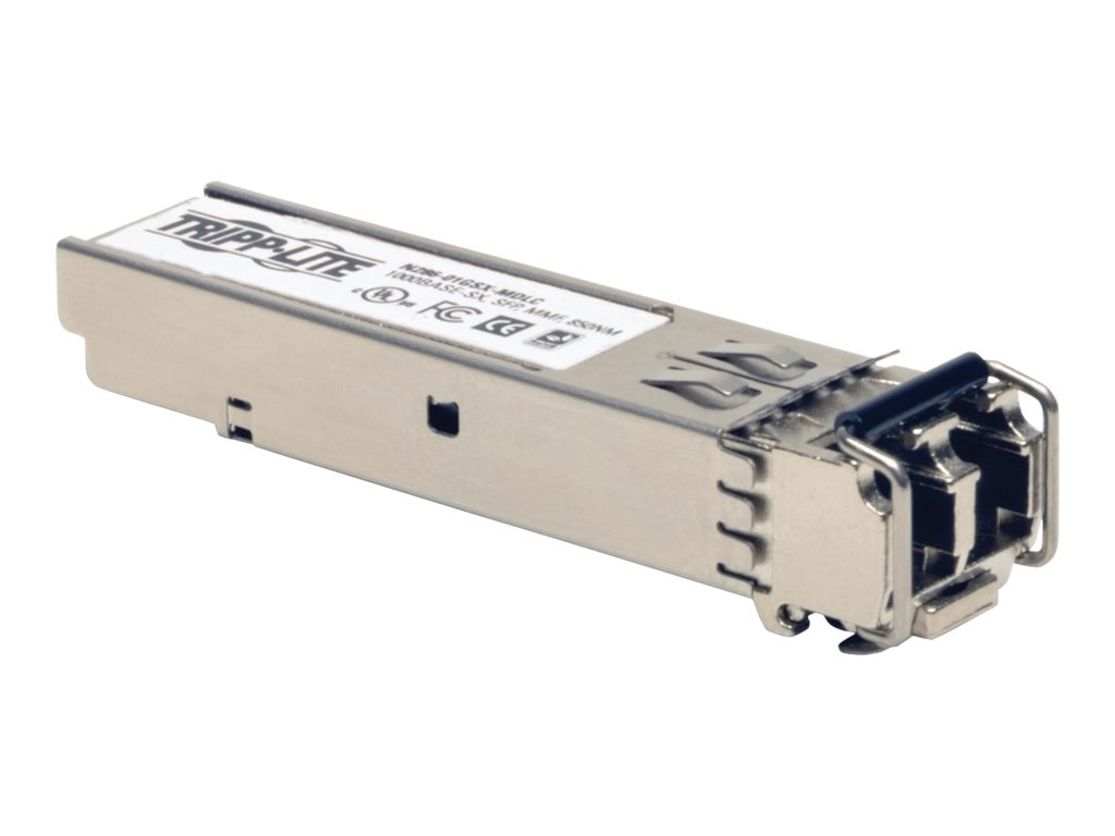 Tripp Lite SFP Transceiver MMF Cisco Compatible1000BASE-SX, N286-01GSX-MDLC, 18469683, Network Transceivers