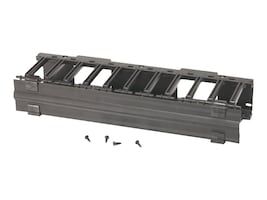 Eaton RCM+ Horizontal Cable Manager, 19 Rackmount, 3U, Flat Black, SB87019S3FB, 16949878, Rack Cable Management