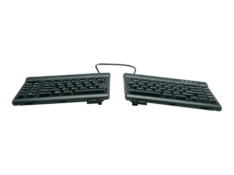 Kinesis Freestyle2 Keyboard for Mac w  Freestyle V3 Accessory, KB830HMB-BLK