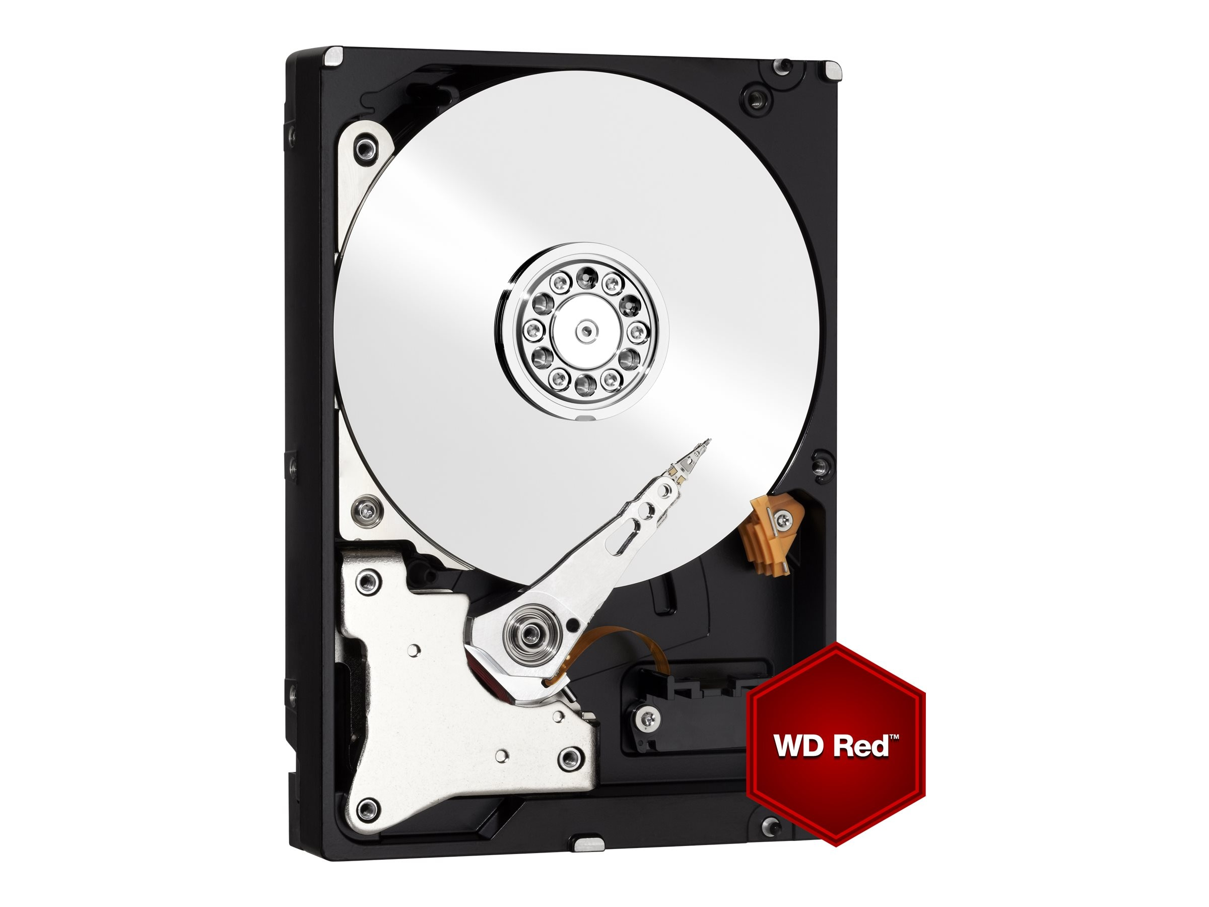 WD 4TB WD Red SATA 6Gb s 3.5 Internal NAS Hard Drive, WD40EFRX, 16219251, Hard Drives - Internal