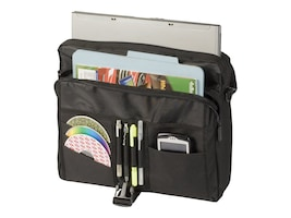 Targus Messenger Notebook Case, Fits Notebooks up to 15.6, TCM004US, 13508701, Carrying Cases - Notebook