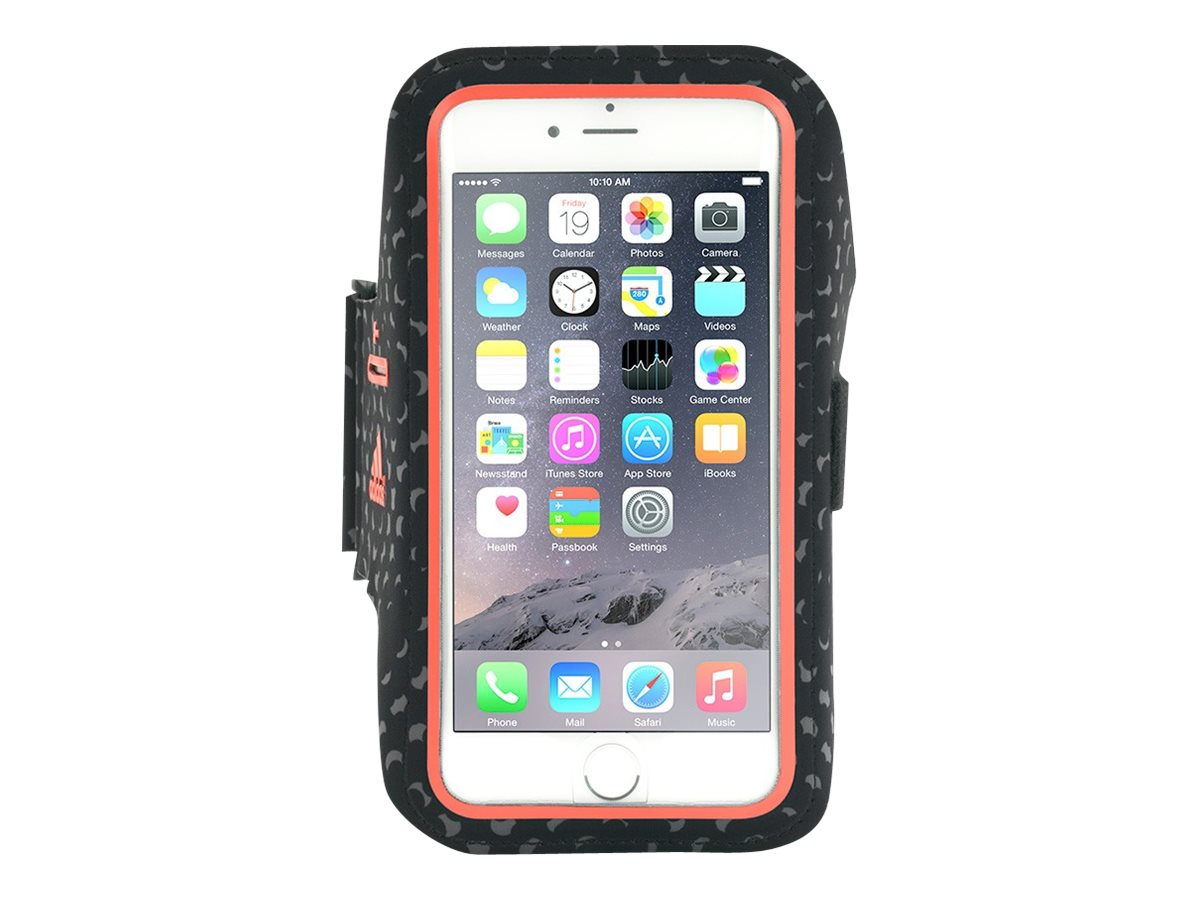 Griffin Adidas Armband for iPhone 6, Black Red, GB40515, 18493860, Carrying Cases - Phones/PDAs