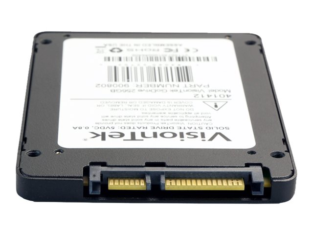 VisionTek 256GB GoDrive SATA 6Gb s 2.5 7mm Internal Solid State Drive, 900802