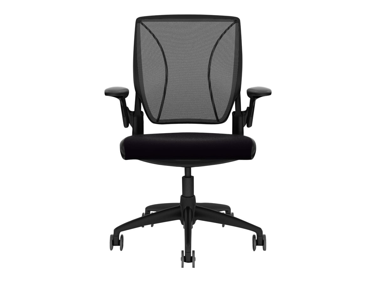 Humanscale Diffrient World Chair, Black, W11BM10V101