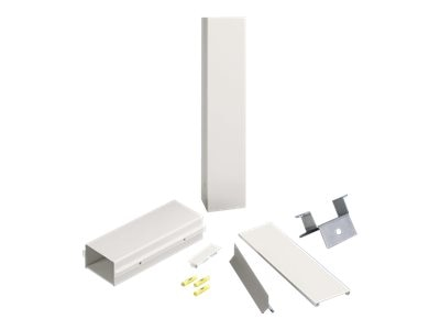 Panduit Pan-Pole Extension Kit, Extends 13' Pole to 16', Electric Ivory, PCPAK16EI, 30721335, Premise Wiring Equipment