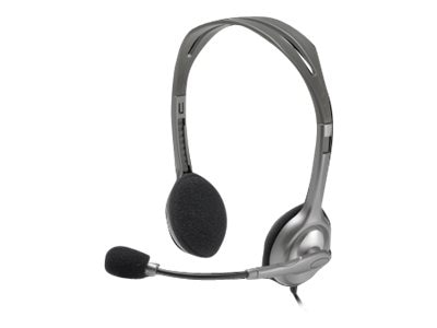 Logitech Stereo Headset H111, 981-000612, 21402965, Headsets (w/ microphone)