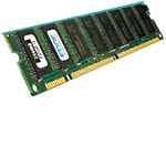 Edge 256MB PC133 133MHz 168-pin ECC Unbuffered SDRAN DIMM, PE195212, 7243013, Memory