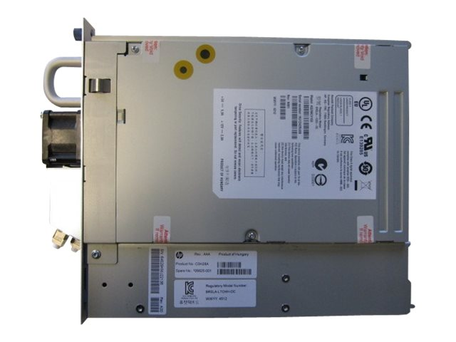 HPE StoreEver MSL LTO-6 Ultrium 6250 FC Drive Upgrade Kit, C0H28A, 15131505, Tape Drives