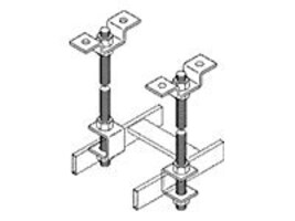 Chatsworth Ceiling Kit for Cable, Threaded, 11310-003, 12173638, Rack Cable Management