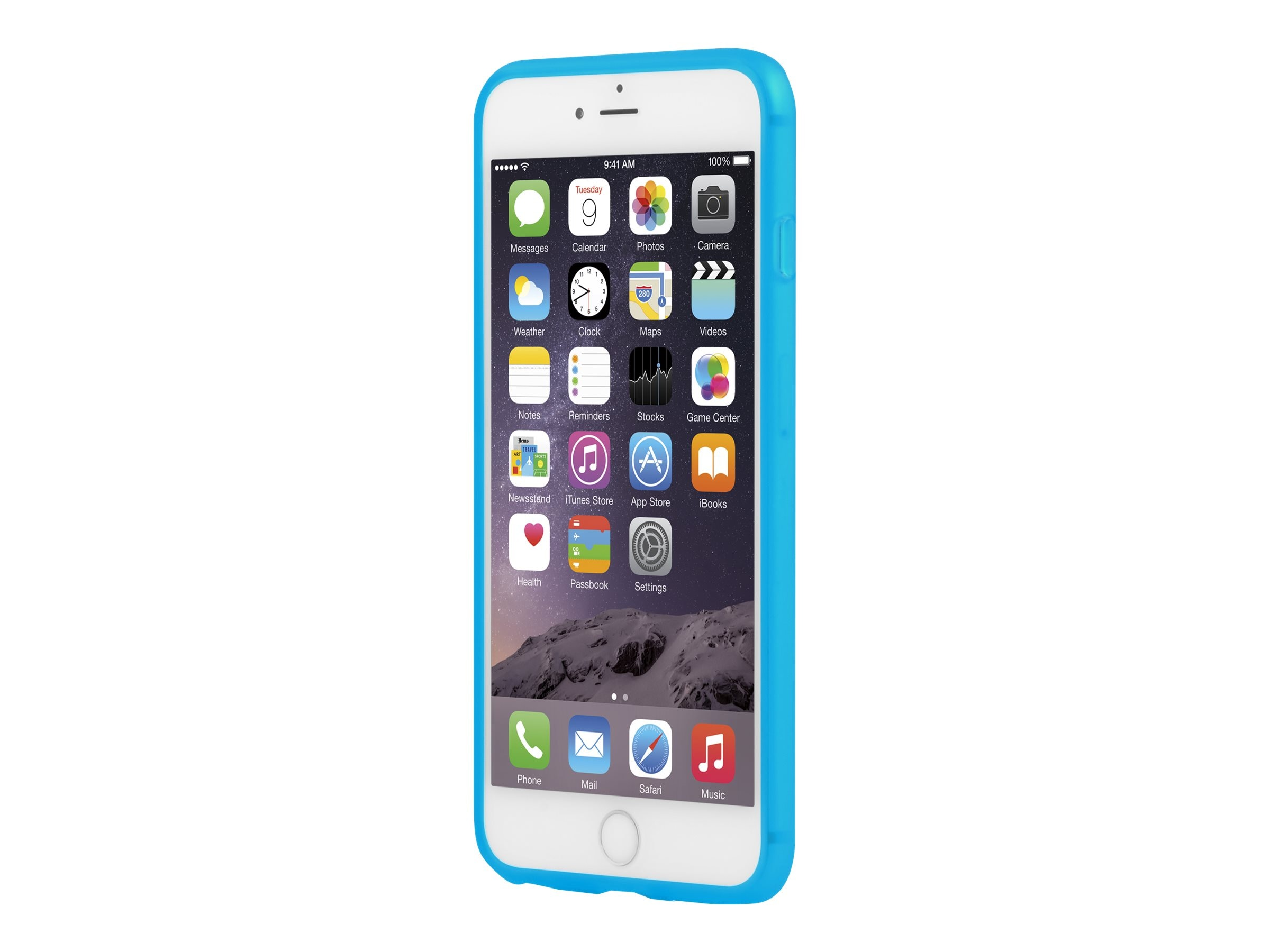 Incipio NGP Flexible Impact-Resistant Case for iPhone 6 6S Plus, Translucent Blue