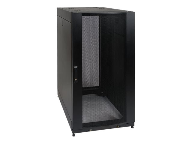 Tripp Lite 25U Rack Enclosure Server Cabinet Shock Pallet, Black, SR25UBSP1, 7605117, Racks & Cabinets