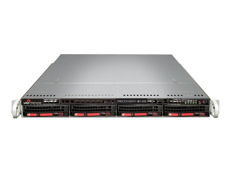 Unitrends Recovery-814S Backup Appliance w  3-Year Support, RC814S-3, 18471450, Disk-Based Backup