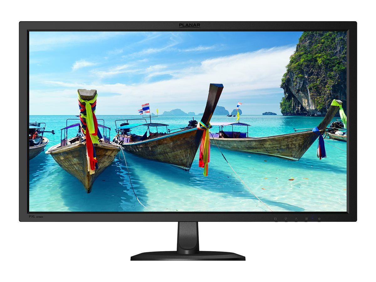 Planar 21.5 PXL2270MW Full HD LED-LCD Monitor, Black, 997-8001-00, 20794362, Monitors - LED-LCD