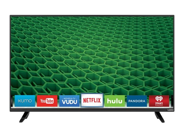 Vizio 48 D48-D0 LED-LCD Smart TV, Black, D48-D0, 31159356, Televisions - LED-LCD Consumer
