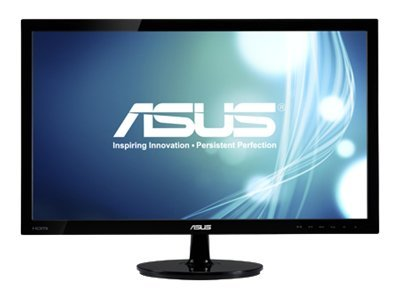 Asus 24 VS248H-P Widescreen LED-LCD Monitor, Black, VS248H-P