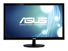 Asus 24 VS248H-P Widescreen LED-LCD Monitor, Black, VS248H-P, 13003201, Monitors