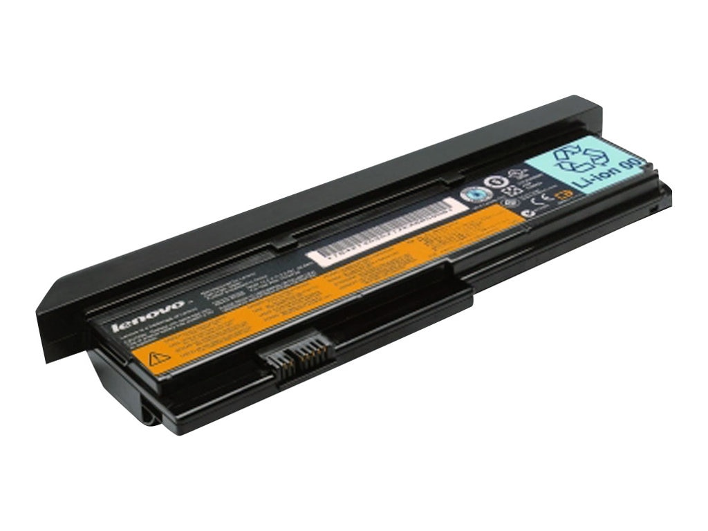 Lenovo Battery, Li-Ion 9-cell 7.8Ah 10.8V for ThinkPad X200 Series, 43R9255