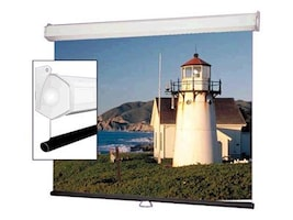 Draper Luma 2 Manual Projection Screen, Matte White, 4:3, 100, 206013, 6788450, Projector Screens